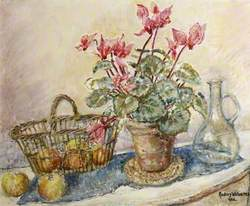 Cyclamen and Apples