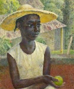 Ancilla with an Orange