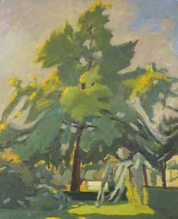 Garden, Elgin Crescent, W11