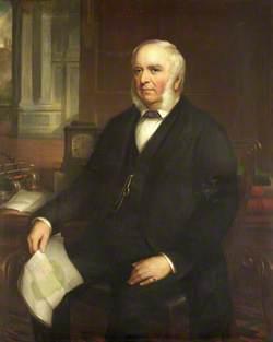 William Claxton, Master (1836), Treasurer (1841–1873)