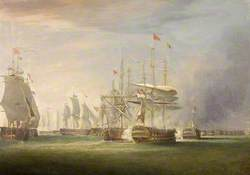 Battle of the Nile, 1st August 1790