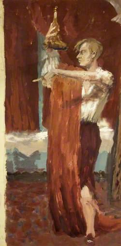 John Gielgud (1904–2000), as Valentine in 'Love for Love'