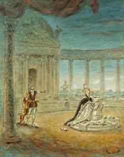 Scene from 'Helen!', Adelphi Theatre, London