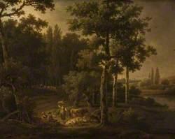 Landscape with Flocks