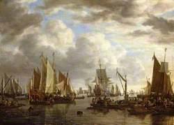 Shipping before Dordrecht