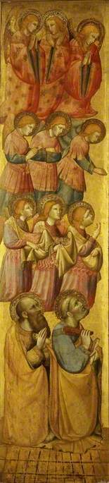 St Peter and St Paul with Angels