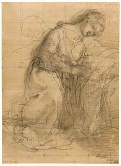 A Study for the Figure of the Virgin in a Nativity