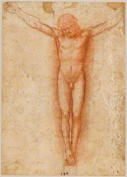 Study for a Figure of Christ on the Cross