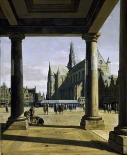 The Groote Kerk at Haarlem