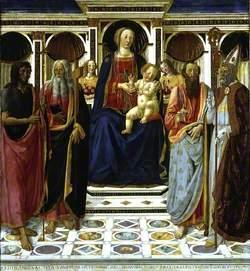 Virgin and Child with Saint John the Baptist, Saint Andrew, Saint Bartholomew and Saint Zenobius