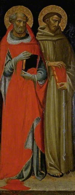 Saint Jerome and Saint Francis