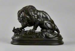 Lion au serpent No. 1