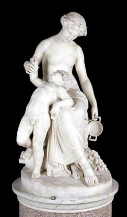 The Nymph Ino and the Infant Bacchus