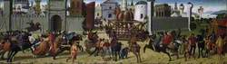 The Siege of Troy, the Wooden Horse