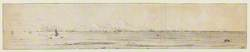 Panoramic View of the English Fleet, off Zandvoort