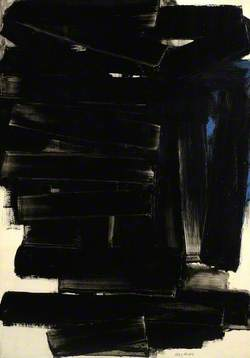 Painting, 116 x 81 cm, March 1958