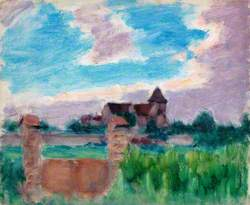 French Landscape with a Church