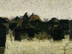 Dusk, the Outbuildings