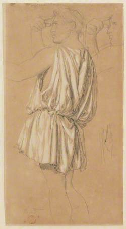 Study for the Figure of Phidias in 'The Apotheosis of Homer'