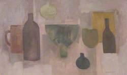 Still Life: Pots and Bottles