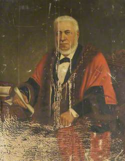 Alderman Mr William Gradwell (c.1820–1882), 5th Mayor of Barrow-in-Furness (1881–1882)
