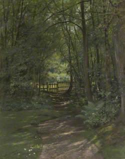 Ruskin's Garden at Brantwood