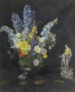 Mixed Bunch, Flowers in Vase