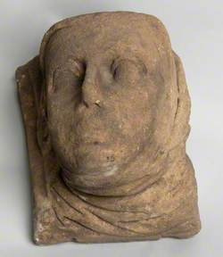 Head of a Woman Wearing a Wimple