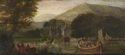 The Launch of the First Gondola: Coniston Old Hall