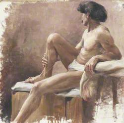Study of a Near-Naked Man