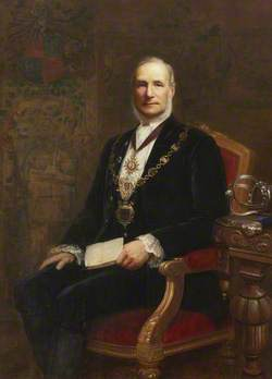 Alderman William Bindloss of Castle Green, Mayor of Kendal