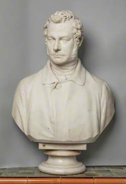 Bust of a Gentleman (possibly James Steel)