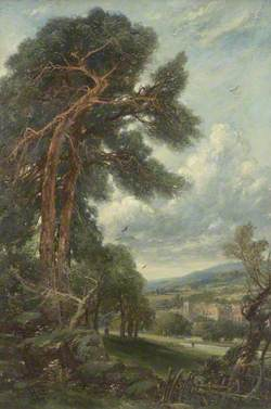 Landscape with Large Tree