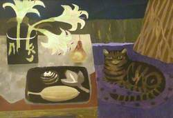 Tabby and Lilies
