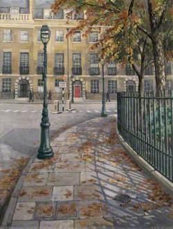 October in Bedford Square