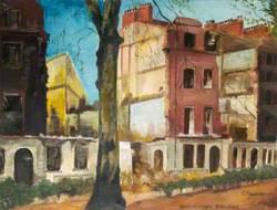 Torrington Square (Bomb Damage)