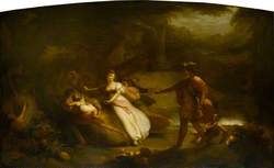The Contention of Oberon and Titania for the Indian Boy from William Shakespeare's 'A Midsummer Night's Dream' Act II