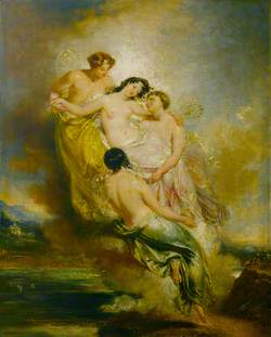 Psyche Conveyed by Zephyrs to the Valley of Pleasure