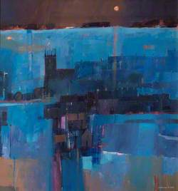 Abstract Blue Harbour