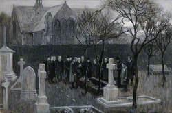 The Funeral of Sir Hector Macdonald in Edinburgh