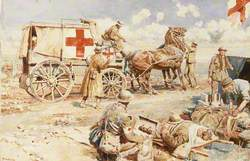 First World War: An Advanced Dressing Station on the Western Front
