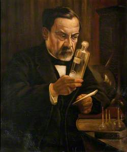 Louis Pasteur (1822–1895), Proponent of the 'Germ' Theory of Disease