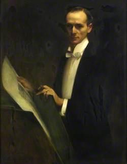 M. H. Spielmann, 'A Gas Light Study'