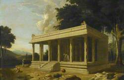 A 'Choultry', or Travellers' Rest House, in South India