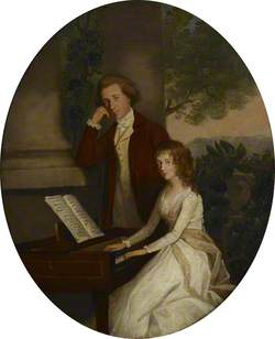 Double Portrait of a Young Unidentified Couple