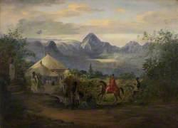 The British Residency at Ankobar, 1842