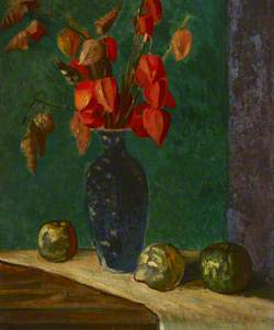 Still Life (Winter Cherries)