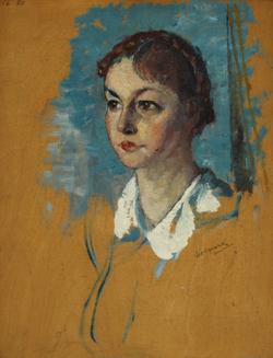 Portrait Sketch of a Girl