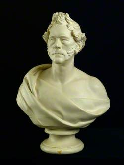 Bust of a Gentleman with Side Whiskers