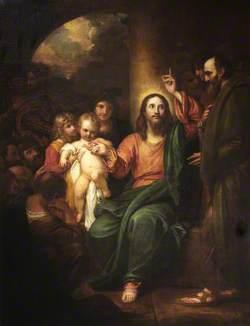 Christ Presenting a Little Child